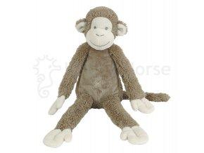 Hnědá opička Mickey 43cm