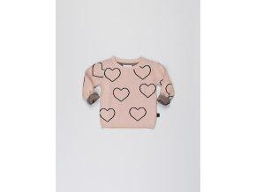 Svetr Heart knit