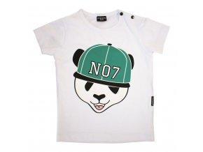 Panda t-shirt - zelené