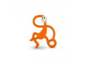hryzatko a zubna kefka dancing monkey oranzova 2