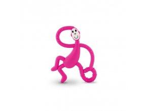 hryzatko a zubna kefka dancing monkey ruzova