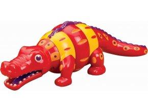 Chřestící a klapající krokodýl 1