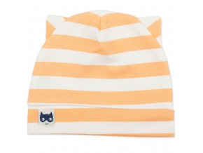 Bavlněná čepice Garcon - oranžová