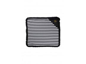 342 deka stripes black white