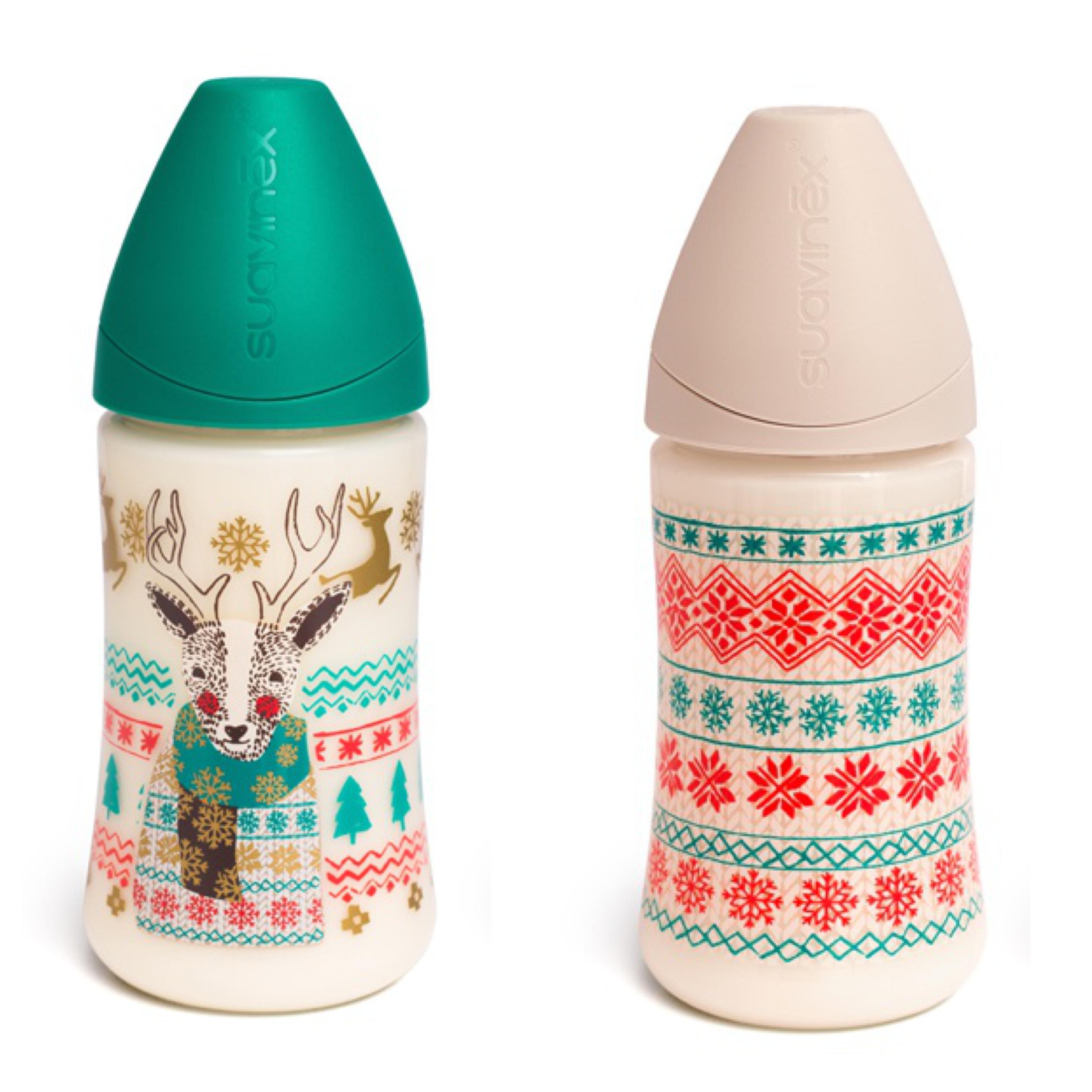 Vánoční kolekce 2016 - Láhev 270 ml Barva: Zelená