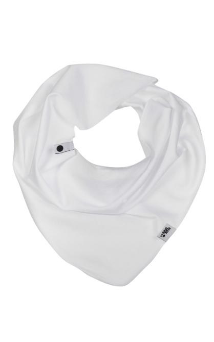 Bavlněný šátek - bílý