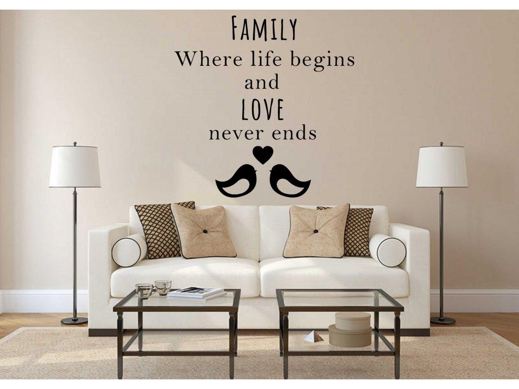 Family (černá)