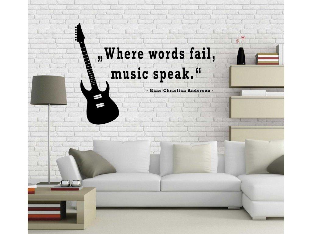 Music (černá)