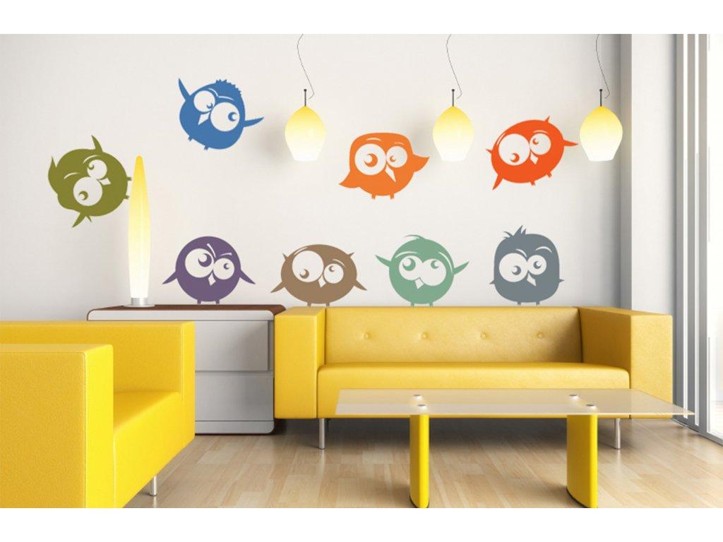 Ptáček - ptáčci dekorace