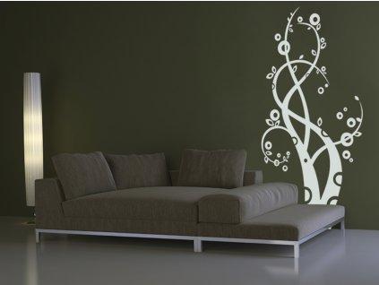 Cappio - Samolepky na zeď - dekorace (barva bílá)
