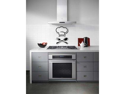 Barbecue Samolepka do kuchyně (černá)