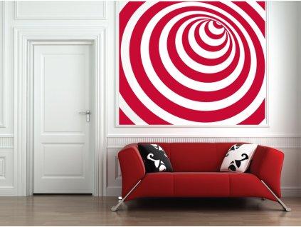 Infinity - samolepka na zeď   SAMOLEPKYnaZED.cz (barva červená)