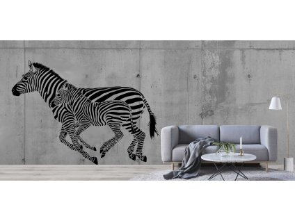 Zebry (černá)