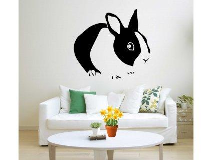 Velikonoční králík (černá)