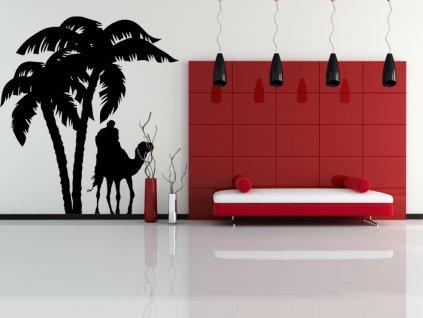 SAFARI - samolepky na zeď a dekorace | SAMOLEPKYnaZED.cz (barva černá)