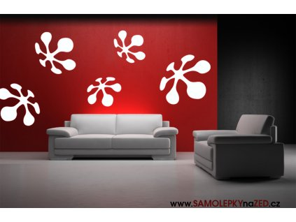 Květy - skvělá dekorace do bytu (barva bílá)