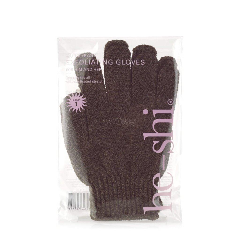 He-Shi Exfoliating Gloves peelingove rukavice