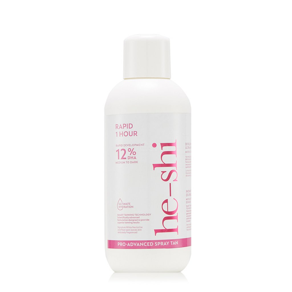 He-Shi RAPID 1 HOUR 12 Liquid samoopalovaci nastrek salon emulzia