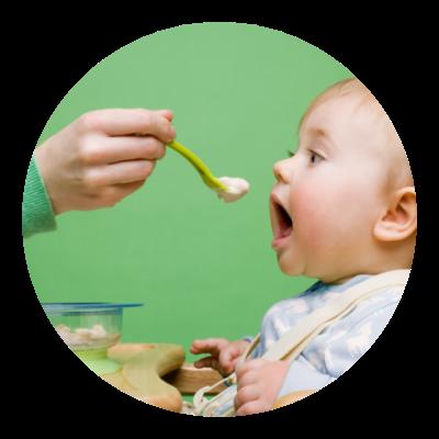 Příjem potravy u dětí