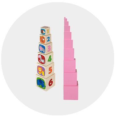 Montessori hračky vs. Montessori pomůcky