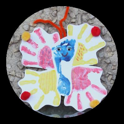 Vyrobte si s dětmi motýlka