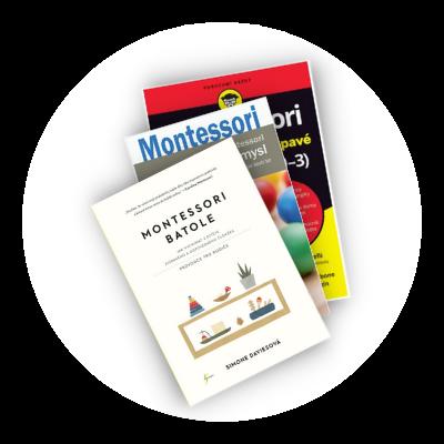 Recenze na 3 knihy o Montessori pedagogice od Máma pediatr