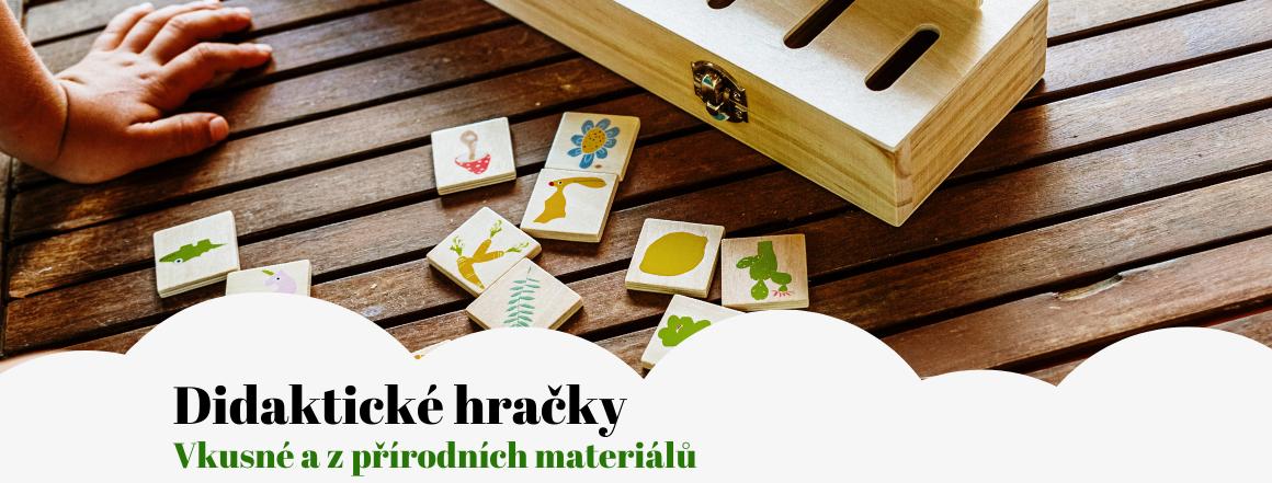 Didaktické hračky - vkusné a z přírodních materiálů
