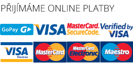 Přijímáme online platby