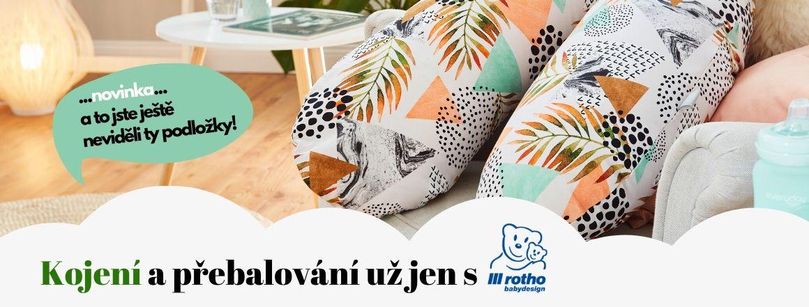 Rotho Babydesign GmbH - Nové kojící polštáře a přebalovací podložky