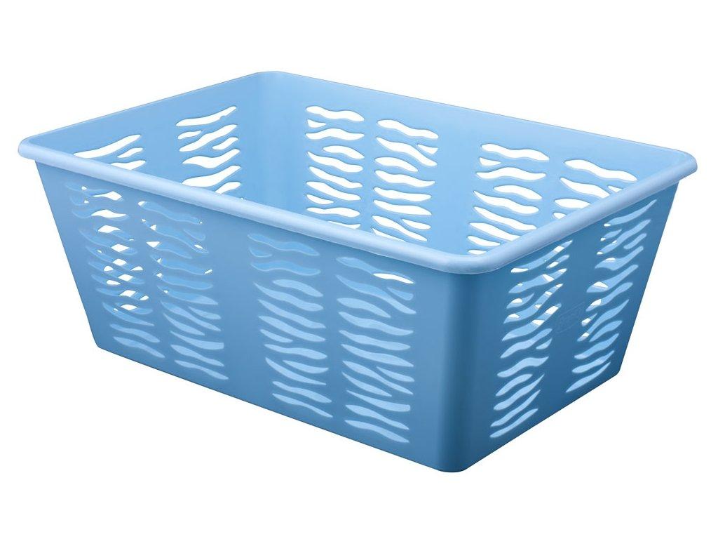 Košík Zebra 30x20x11cm modrá