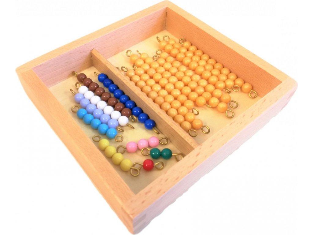Perlové řetězy pro Seguinovu tabulku (11-19)