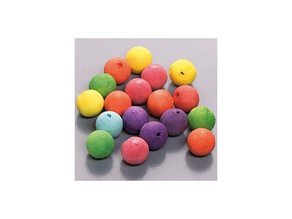 Vatové koule barevné 20ks 2cm
