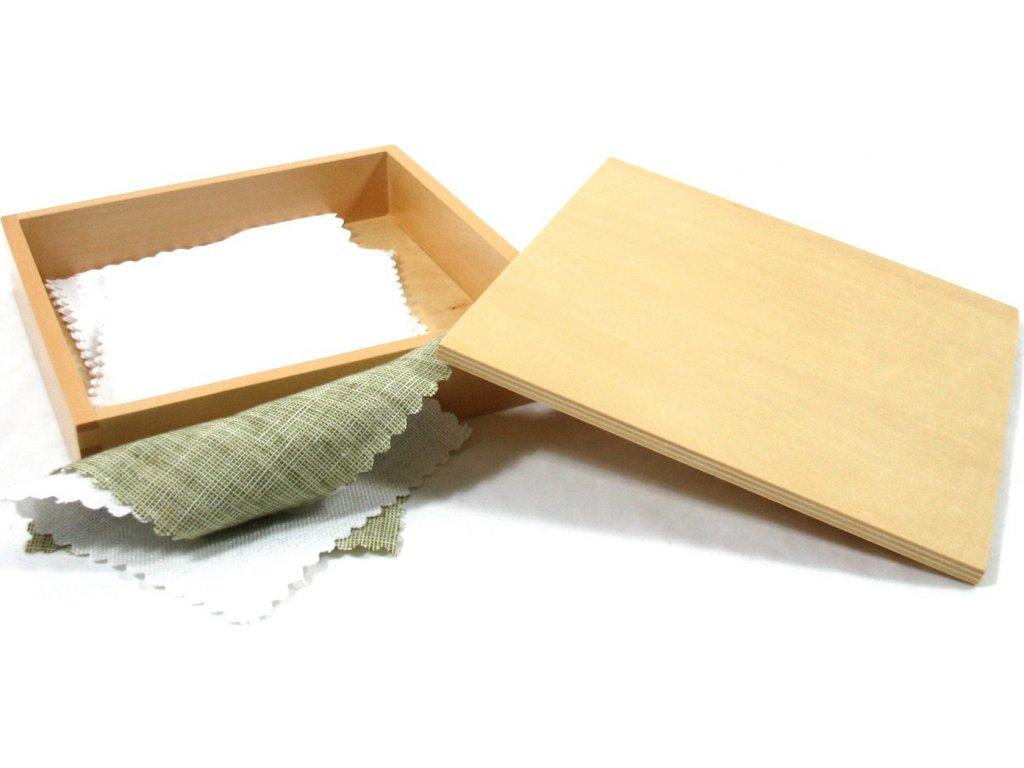 Krabička s látkami