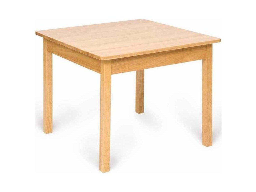Dětský dřevěný hrací stůl Bigjigs Toys
