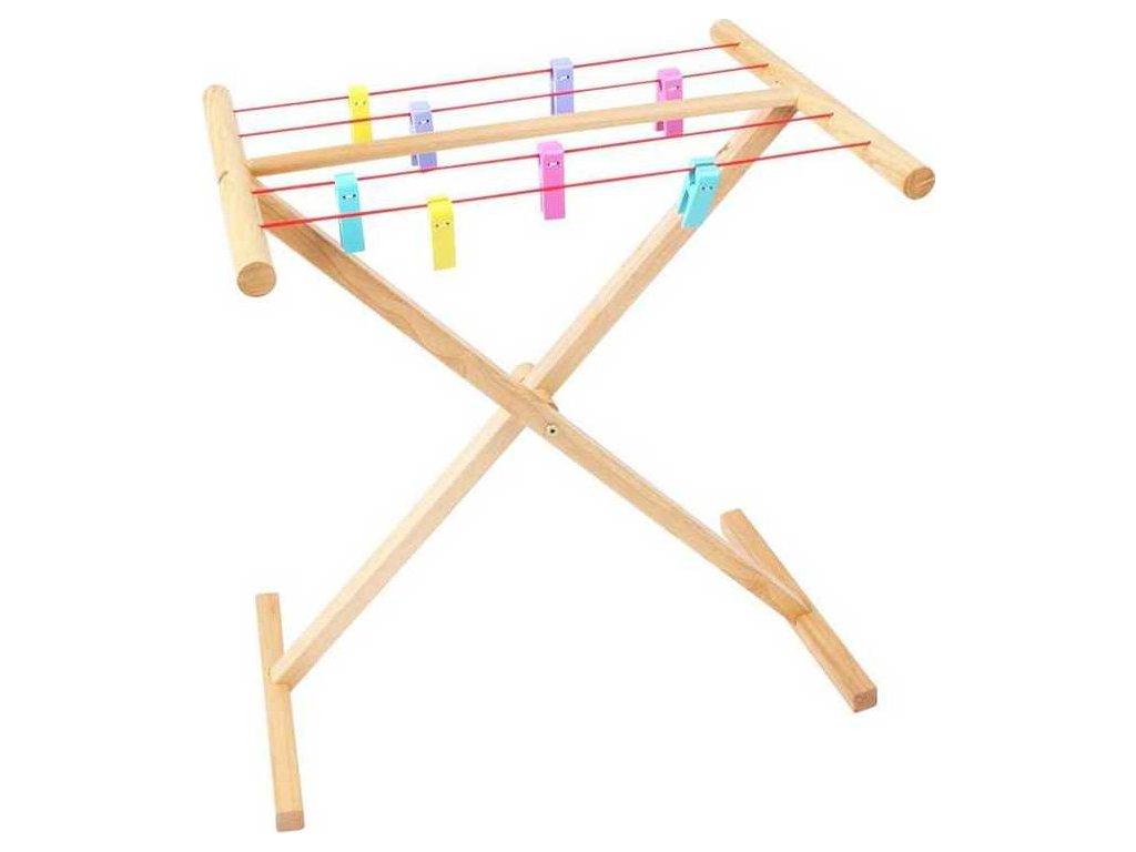 Dřevěný sušák na prádlo Bigjigs Toys