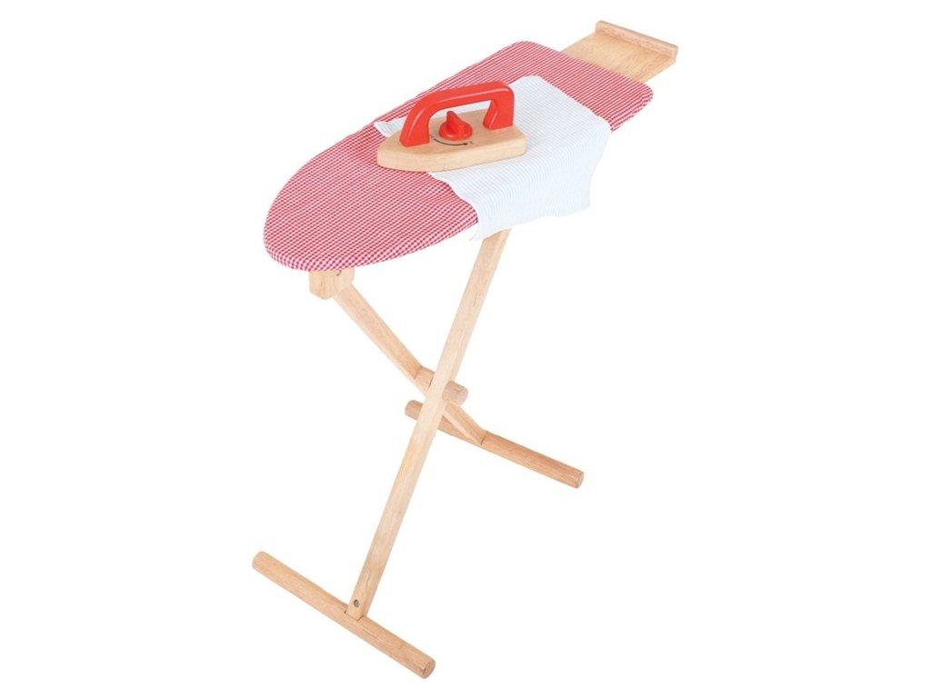 Dřevěné žehlící prkno s žehličkou Bigjigs Toys
