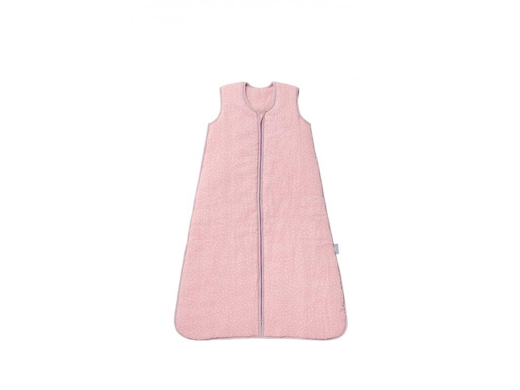 Spací pytlík 86 cm - růžový