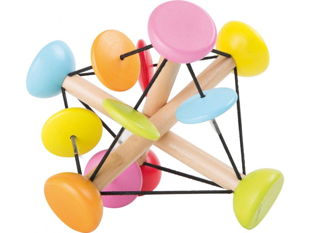 Dřevěná motorická hračka pro uchopení