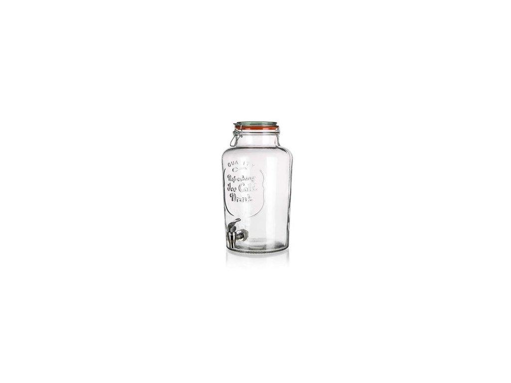 zasobnik na vodu sklo 7l