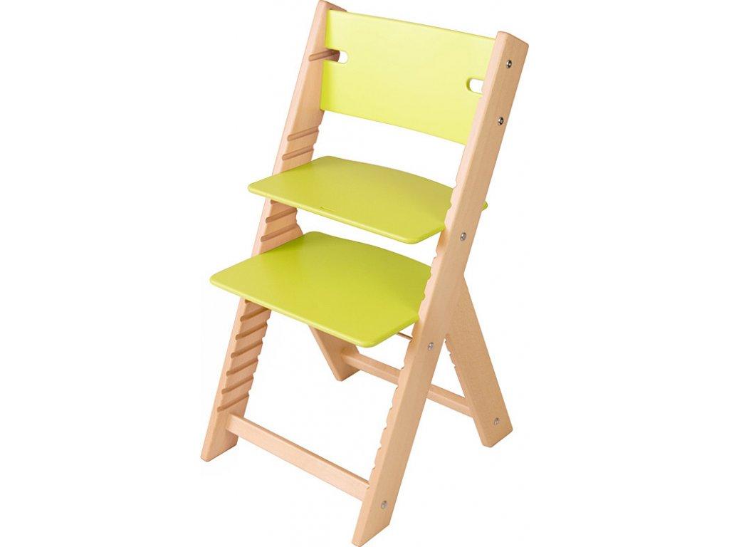 Rostoucí židle Sedees Line - zelená