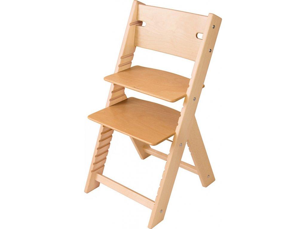 Rostoucí židle Sedees Line – bez povrchové úpravy