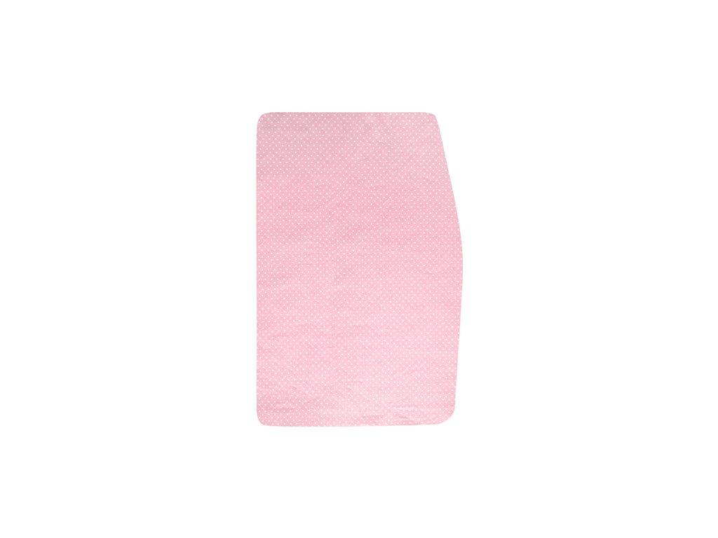 Podsedák růžový s minipuntíky