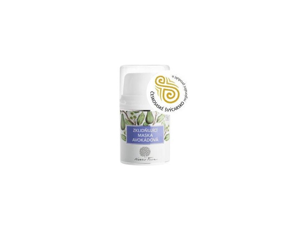 N0620E zklidnujici maska avokadova 50 ml