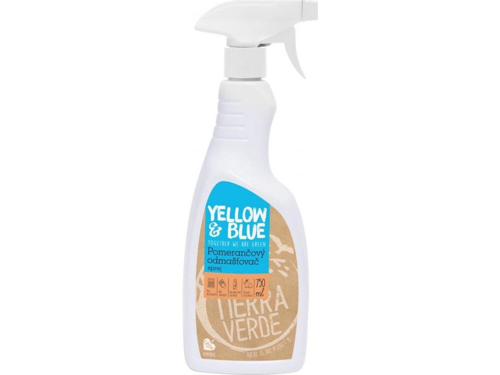 Pomerančový odmašťovač – sprej (rozprašovač 750 ml)