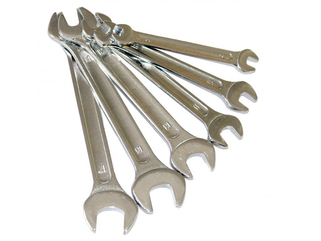 Sada plochých klíčů 6-17mm 6ks