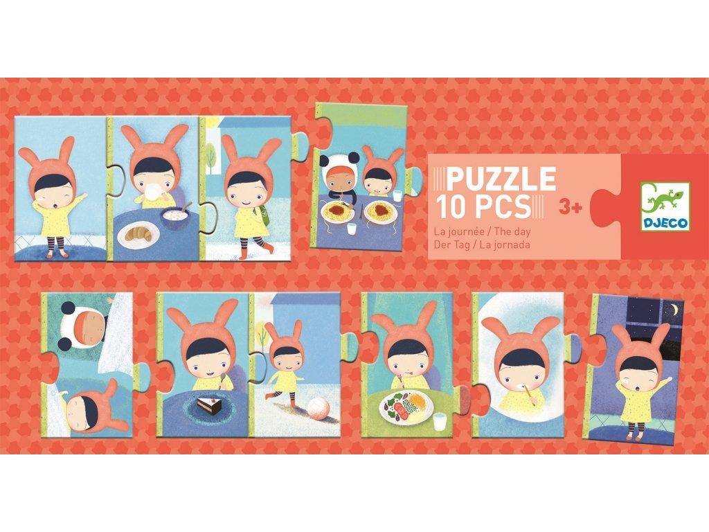 Puzzle trio Denní činnosti