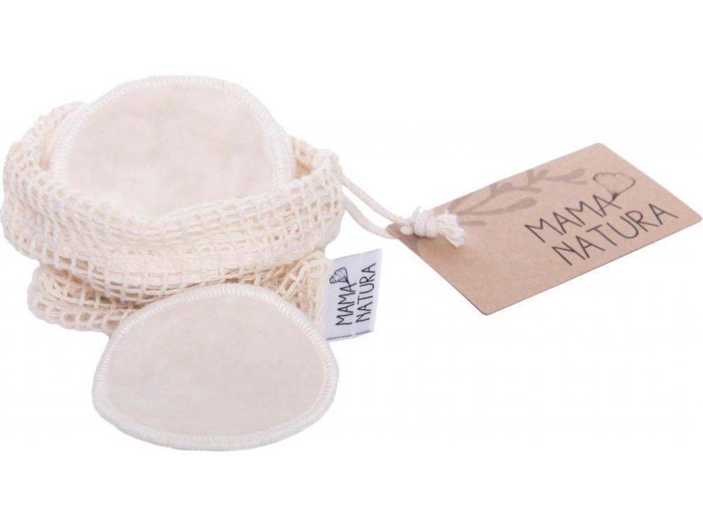 Tampon kosmetický samet – malý (7 cm) 6 ks