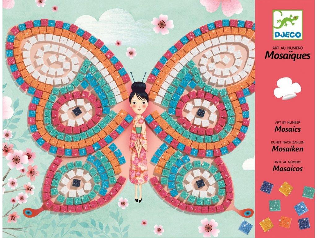 Mozaika Motýli