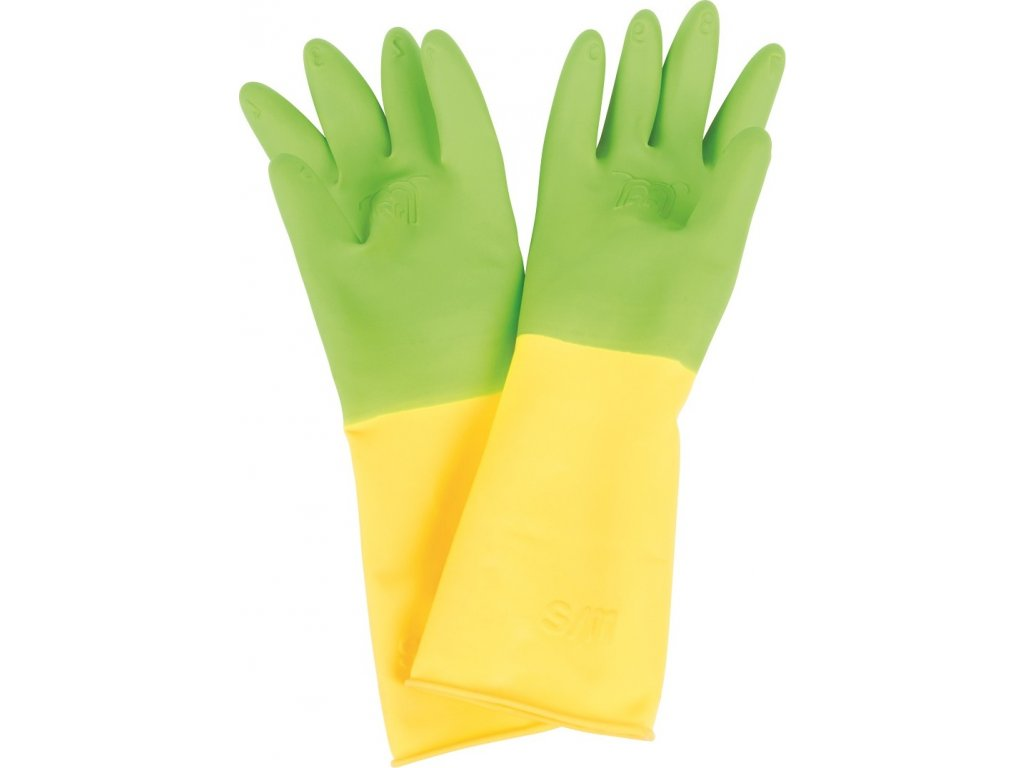 Bigjigs Toys Dětské rukavice dlouhé zelené