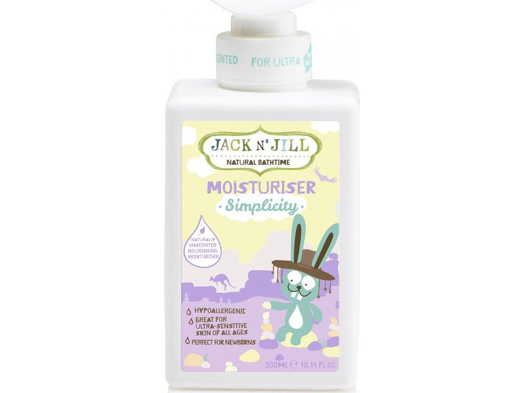 Jack N´ Jill NATURAL BATHTIME Simplicity Tělové mléko